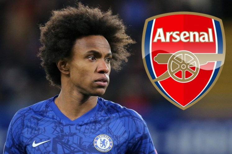 Romano: 'Willian approved' 'just a matter of time' before he ...