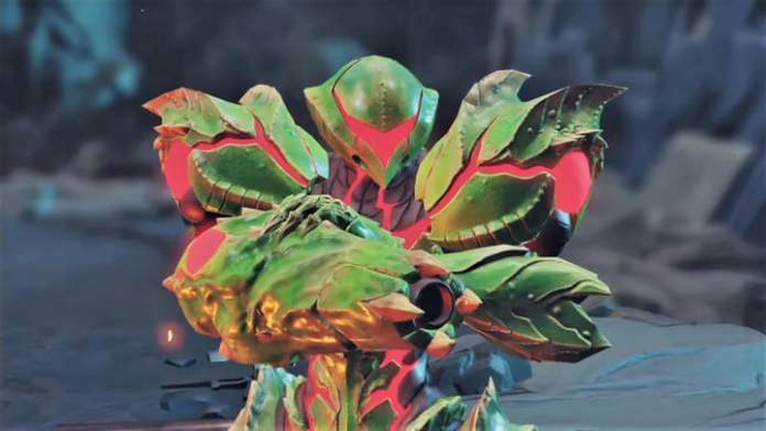 Metroid Suit from Metroid Dread.