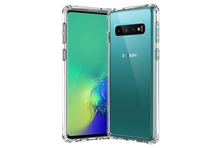 Aedilys Transparent Military-Grade Case for Samsung Galaxy S10