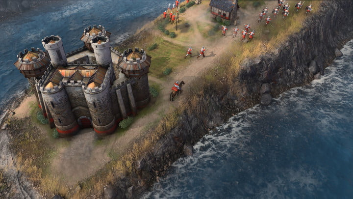 Age of Empires 4 exploration.