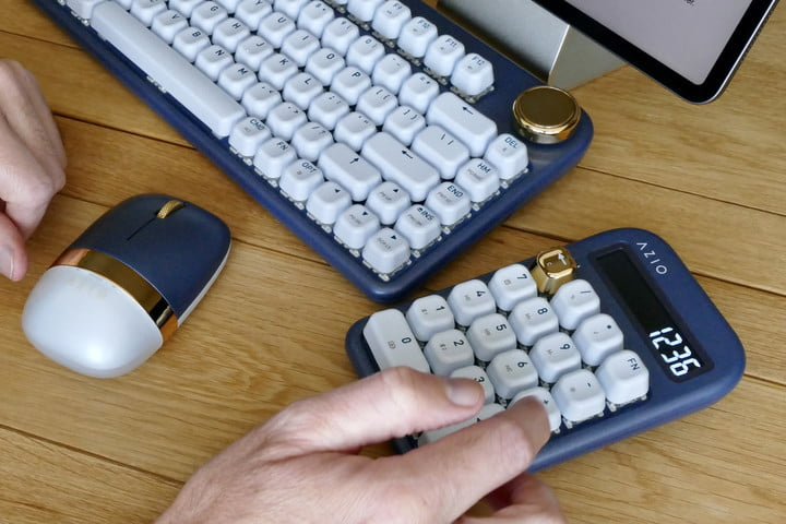azio izo collection bluetooth keyboard hands on features price photos release date