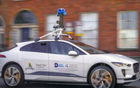 Google deploys a Jaguar I-Pace as its first all-electric Street View car