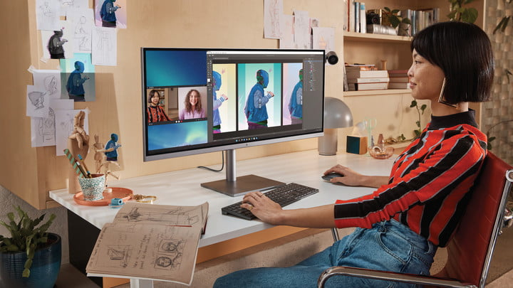 HP's redesigned Envy 34 all-in-one looks like a standard monitor.