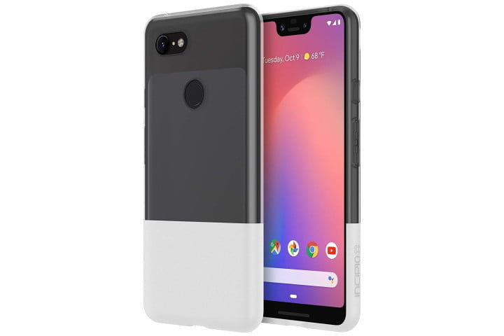 Two-tone Incipio NGP Case in grey and white for the Google Pixel 3.