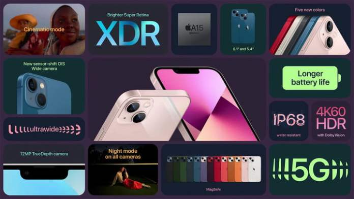 Overview of what's new for the all new iPhone 13.