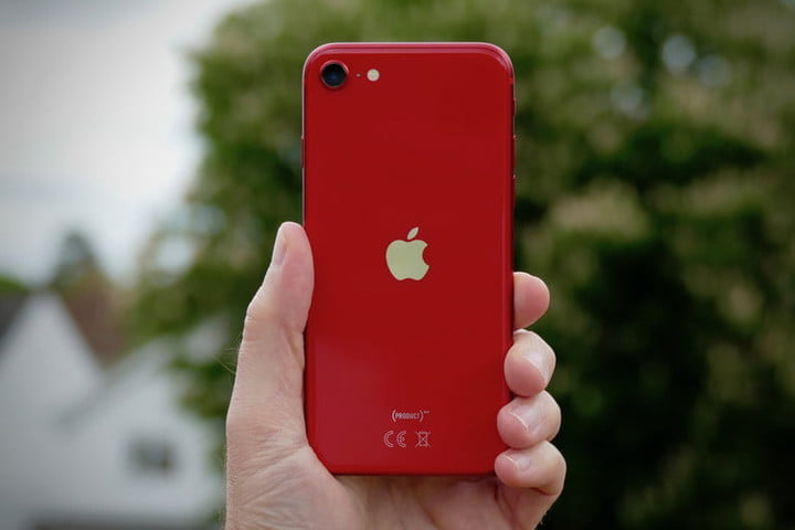 iPhone SE 2020 Back Red