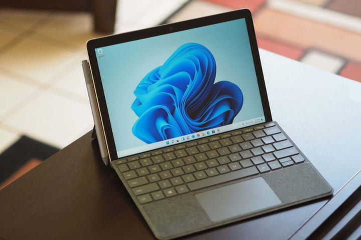 Microsoft's new Surface Go 3 comes with a 60% speed boost compared to the previous gen.