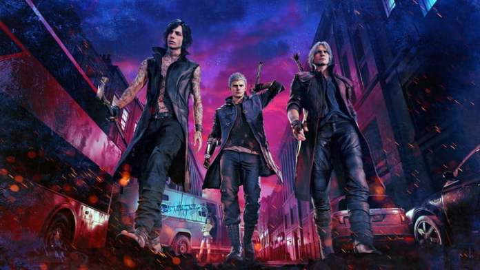Fighters in Devil May Cry 5.