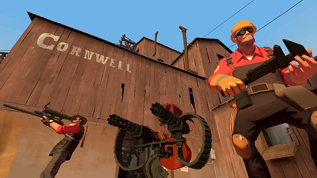 Originally packaged inside The Orange Box in 2007, Valve's Team Fortress 2 was an instant success in the multiplayer shooter realm.
