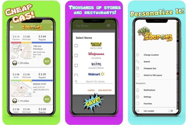 The Coupons App shopping deals and promo codes.