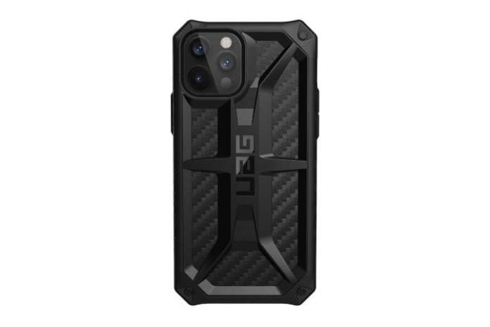 The back of the UAG Monarch case for the iPhone 13 Pro.