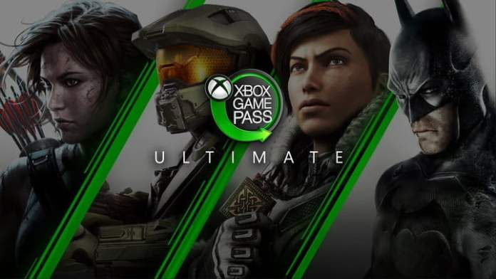 Xbox Game Pass Ultimate logo.
