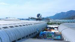 Çin'de sürücüsüz drone taksi 2 yolcuyla uçtu
