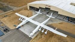 Dünyanın en büyük uçağı ikinci kez havalandı