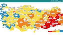 27 Eylül Türkiye'nin korona tablosu