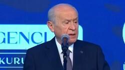 Devlet Bahçeli'nin Türk Gençliği Büyük Kurultayı konuşması