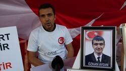 Diyarbakır'da evlat nöbeti tutan baba: Dünya sesimizi duydu HDP duymadı