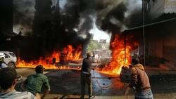 Cerablus'ta eş zamanlı bombalı saldırı: 1 ölü 15 yaralı