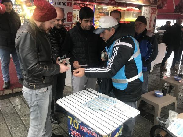 70 milyon liralık bilet Üsküdar'da satıldı