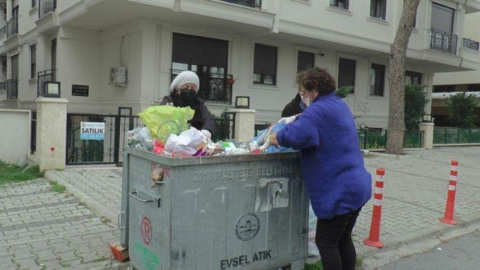 Maltepeli CHP liler, belediyeye destek için çöp topladı #3