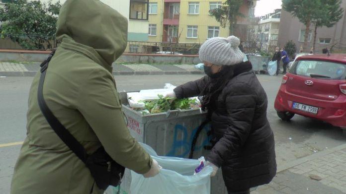 Maltepeli CHP liler, belediyeye destek için çöp topladı #1