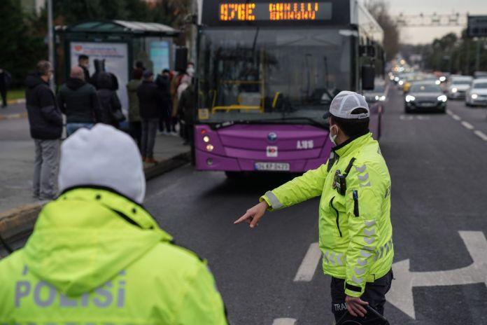 İstanbul da toplu taşıma araçlarında koronavirüs denetimi  #8