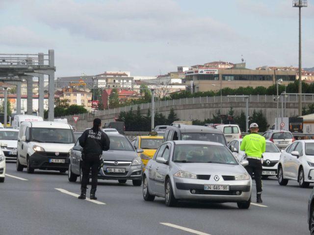 İstanbul da sürücüler havadan denetlendi  #3