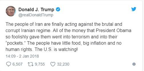 İran'dan Trump'a: Bizimle değil açlarla ilgilenin