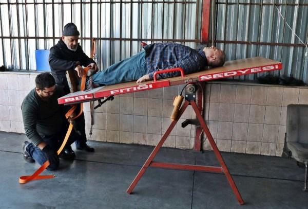Fıtıkçı rot balanscının iş yerine tutanak tutuldu
