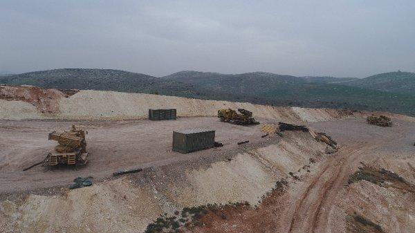 PYD hedefleri Kilis'ten yapılan atışlarla vuruluyor