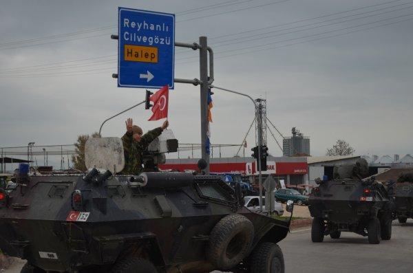 JÖH timleri mehter marşı ile Afrin'e gidiyor