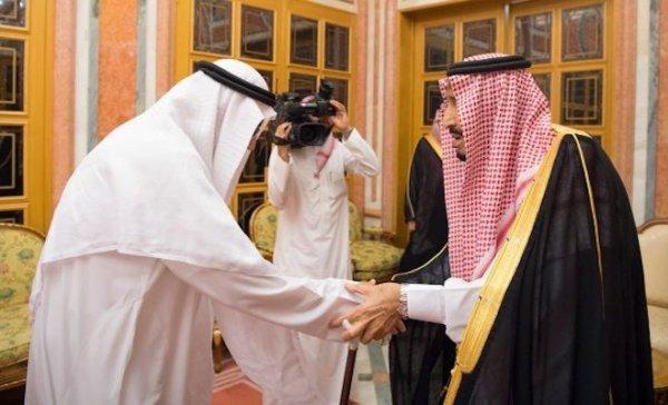 Suudi Kral Selman Kaşıkçı ailesini kabul etti