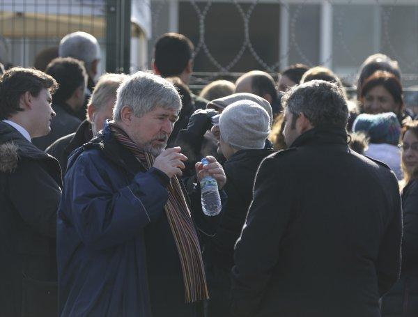 Demirtaş'ın mahkemesine gelen diplomatlar içeri alınmadı