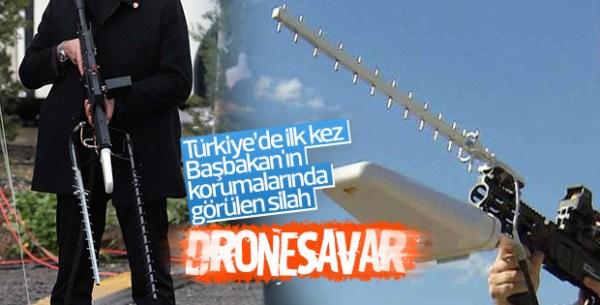 Güvenlikte drone savar dönemi