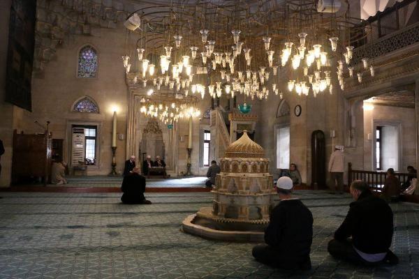 Şişli Camii'nde Atatürk için mevlit okutuldu