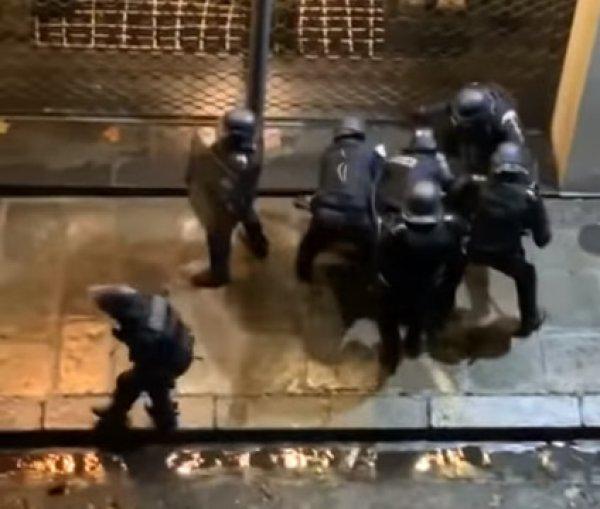 Paris'te polis dehşeti
