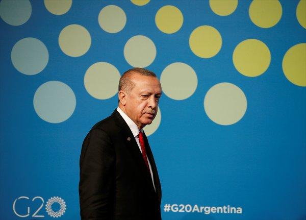 Erdoğan'dan G20'de YPG uyarısı