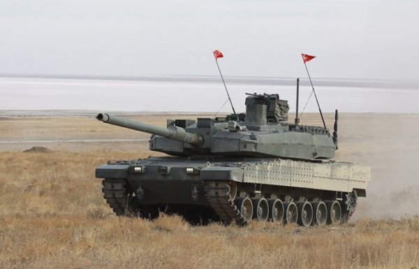 Turkey signs the Turkish battle Altay tank mass production deal