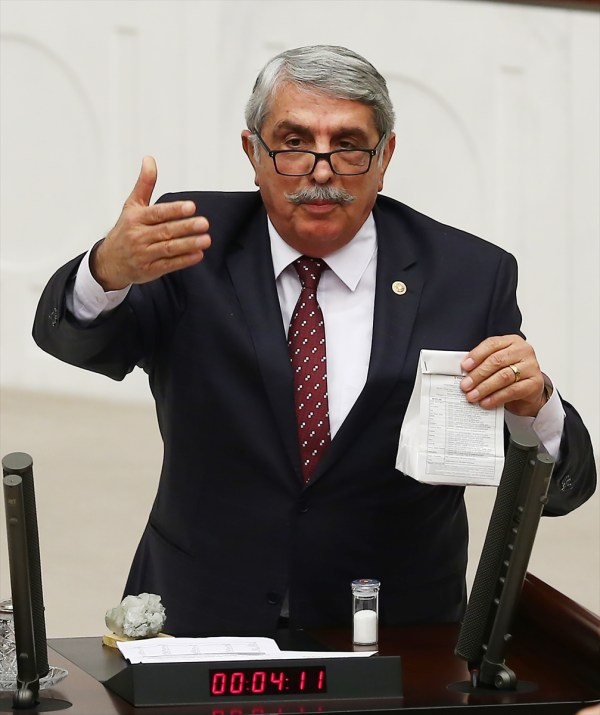 Meclis'te bugün bor madeni gündem oldu