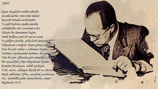 Cemil Meriç'in 83 yıl önce Afrin için yazdığı şiir