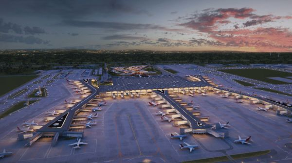 Üçüncü Havalimanı'na 15 bin metrekarelik ilave dolgu alanı