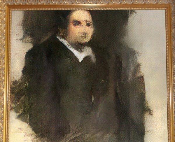 Yapay zeka ile yapılan portre müzayedede satıldı