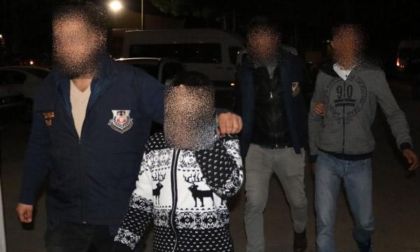 Adana'da karakolun arkasına patlayıcı atanlar yakalandı