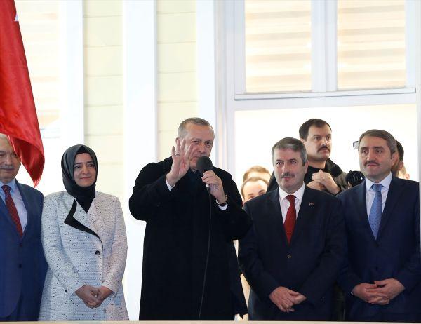 Cumhurbaşkanı Erdoğan Sarıyer'de seçimler için söz aldı