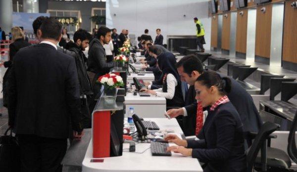İstanbul Havalimanı'nda ilk uçuş heyecanı
