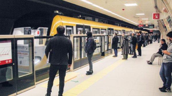 Kabataş- Mahmutbey Metrosu'nun açılış tarihi netleşti