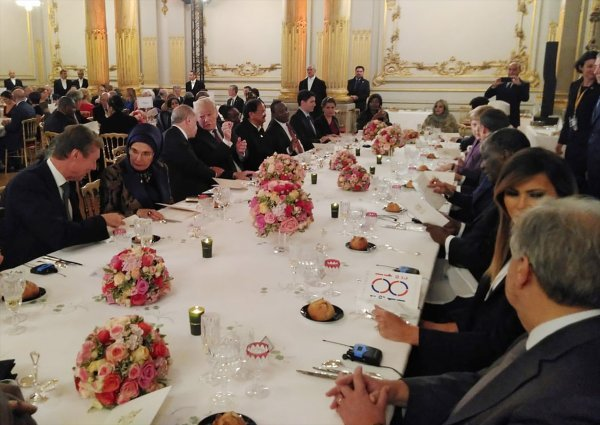 President Erdoğan met with Trump over dinner