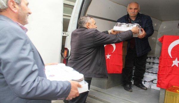 Kocaeli'de bal üreticileri Türk askerine bal gönderdi