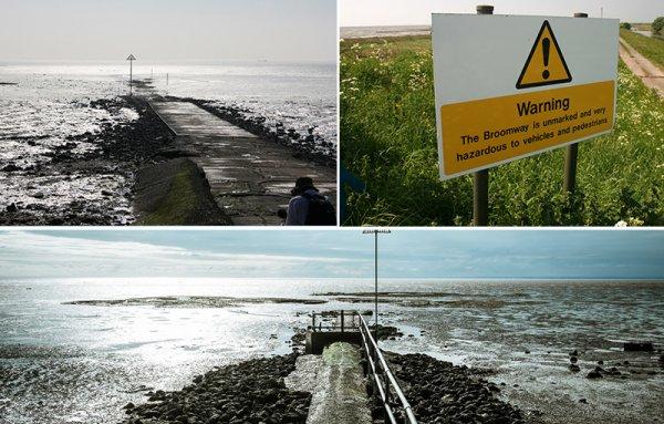 İngiltere'nin en tehlikeli gezi yolu: Broomway