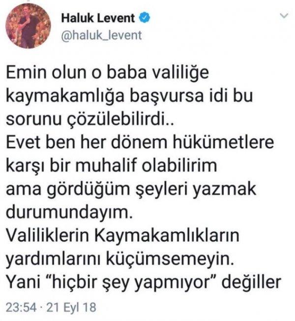 Haluk Levent linç yedi AHBAP'tan istifa etti